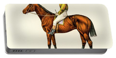 Horse Jockey Portable Battery Charger