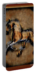 Horse Mosaic Portable Battery Charger