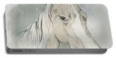 Horse Portrait-farm Animals Portable Battery Charger