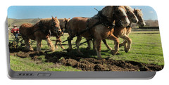 Portable Battery Charger featuring the photograph Horse Power by Jeff Swan