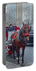 Portable Battery Charger featuring the photograph Horse Power by Sandy Moulder