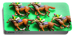 Horse Racing Carnival Portable Battery Charger