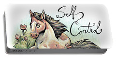 Fruit Of The Spirit Self Control Portable Battery Charger