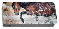Horse Splash Portable Battery Charger