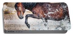 Horse Splash Portable Battery Charger