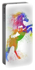 Horse Watercolor 1 Portable Battery Charger