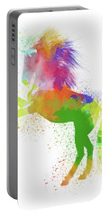 Horse Watercolor 2 Portable Battery Charger