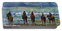 Horseback Beach Memories Portable Battery Charger