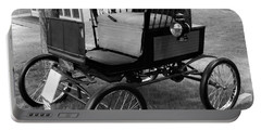 Horseless Carriage-bw Portable Battery Charger