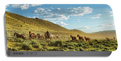 Horses And More Horses Portable Battery Charger