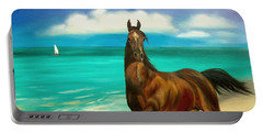 Horses In Paradise  Dance Portable Battery Charger