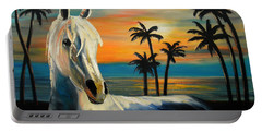 Horses In Paradise  Tell Me Your Dream Portable Battery Charger