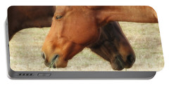 Horses In Sinc Portable Battery Charger by MTBobbins Photography
