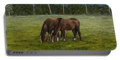 Horses Of Romance Portable Battery Charger