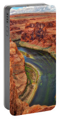 Portable Battery Charger featuring the photograph Horseshoe Bend Arizona - Colorado River #3 by Jennifer Rondinelli Reilly - Fine Art Photography
