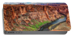 Portable Battery Charger featuring the photograph Horseshoe Bend Arizona - Colorado River #5 by Jennifer Rondinelli Reilly - Fine Art Photography