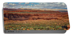 Portable Battery Charger featuring the photograph Horseshoe Bend  - Arizona by Jennifer Rondinelli Reilly - Fine Art Photography