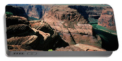 Horseshoe Bend Of The Colorado River Portable Battery Charger by Wernher Krutein