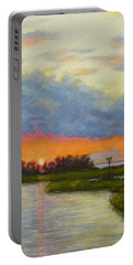 Horseshoe Cove Sunset Portable Battery Charger