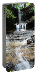 Horseshoe Falls #6735 Portable Battery Charger by Mark J Seefeldt