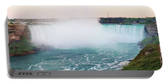 Horseshoe Falls At Dusk Portable Battery Charger
