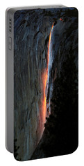 Horsetail Falls Aglow Portable Battery Charger