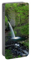 Horsetail Falls Waterfall Art By Kaylyn Franks Portable Battery Charger