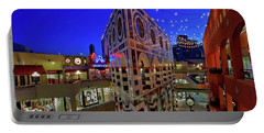 Horton Plaza Shopping Center Portable Battery Charger by Sam Antonio Photography