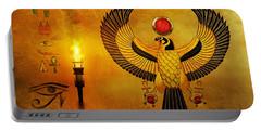 Horus Falcon God Portable Battery Charger