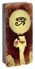 Horus - Falcon God Of Ancient Egypt Portable Battery Charger