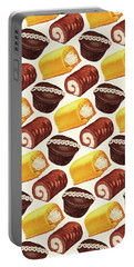 Hostess Cakes Pattern Portable Battery Charger