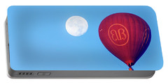 Hot Air Balloon And Moon Portable Battery Charger