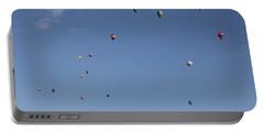 Hot Air Rising  Portable Battery Charger