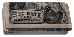 Hot Bath Portable Battery Charger