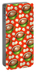 Hot Cocoa Pattern Portable Battery Charger