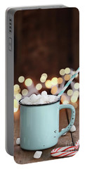 Hot Cocoa With Mini Marshmallows Portable Battery Charger
