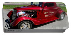Hot Rod Chief Portable Battery Charger by Kevin Fortier