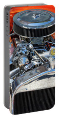 Portable Battery Charger featuring the photograph Hot Rod Engine 2 by Arthur Dodd