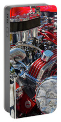Portable Battery Charger featuring the photograph Hot Rod Engine by Arthur Dodd