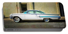 Hot Rod Impala Portable Battery Charger by Craig J Satterlee
