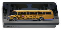 Hot Rod School Bus Portable Battery Charger