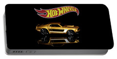 Hot Wheels '69 Ford Mustang Portable Battery Charger