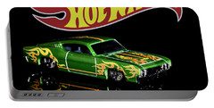 Hot Wheels '69 Ford Torino Talladega Portable Battery Charger