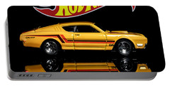 Hot Wheels '69 Mercury Cyclone Portable Battery Charger