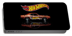 Hot Wheels '70 Dodge Challenger Portable Battery Charger