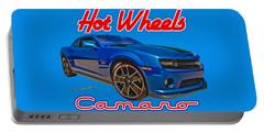 Hot Wheels Camaro Portable Battery Charger