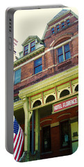 Hotel Florence Pullman National Monument Portable Battery Charger by Kyle Hanson