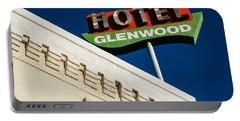 Hotel Glenwood Tucson Arizona By Gene Martin Portable Battery Charger