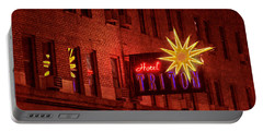 Hotel Triton Neon Sign Portable Battery Charger