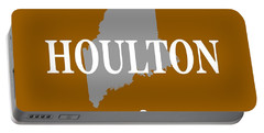 Portable Battery Charger featuring the photograph Houlton Maine State City And Town Pride  by Keith Webber Jr